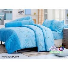 ผ้าปูที่นอนผ้านวม ทิวลิป ดีไลท์ DL054 ชุดเครื่องนอน Tulip Delight