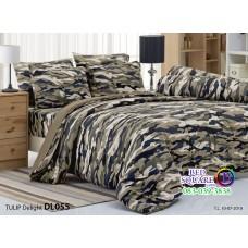 ผ้าปูที่นอนผ้านวม ทิวลิป ดีไลท์ DL055 ชุดเครื่องนอน Tulip Delight