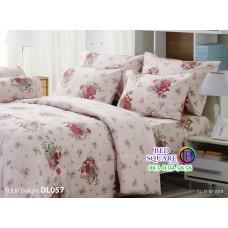 ผ้าปูที่นอนผ้านวม ทิวลิป ดีไลท์ DL057 ชุดเครื่องนอน Tulip Delight