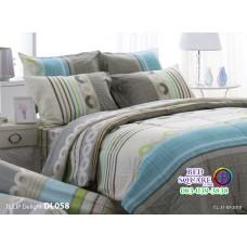 ผ้าปูที่นอนผ้านวม ทิวลิป ดีไลท์ DL058 ชุดเครื่องนอน Tulip Delight