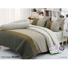 ผ้าปูที่นอนผ้านวม ทิวลิป ดีไลท์ DL064 ชุดเครื่องนอน Tulip Delight