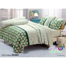 ผ้าปูที่นอนผ้านวม ทิวลิป ดีไลท์ DL065 ชุดเครื่องนอน Tulip Delight