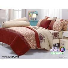ผ้าปูที่นอนผ้านวม ทิวลิป ดีไลท์ DL066 ชุดเครื่องนอน Tulip Delight