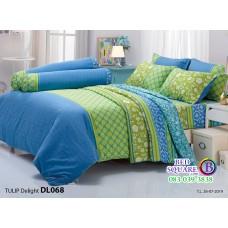 ผ้าปูที่นอนผ้านวม ทิวลิป ดีไลท์ DL068 ชุดเครื่องนอน Tulip Delight