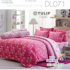 ผ้าปูที่นอนผ้านวม ทิวลิป ดีไลท์ DL071 ชุดเครื่องนอน Tulip Delight