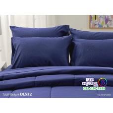 ผ้าปูที่นอนผ้านวม ทิวลิป ดีไลท์ DL532 ชุดเครื่องนอน Tulip Delight