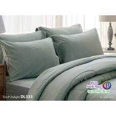 ผ้าปูที่นอนผ้านวม ทิวลิป ดีไลท์ DL533 ชุดเครื่องนอน Tulip Delight
