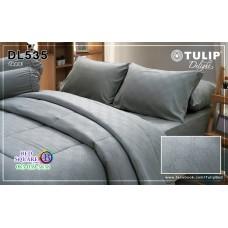 ผ้าปูที่นอนผ้านวม ทิวลิป ดีไลท์ DL535 ชุดเครื่องนอน Tulip Delight