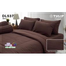 ผ้าปูที่นอนผ้านวม ทิวลิป ดีไลท์ DL537 ชุดเครื่องนอน Tulip Delight