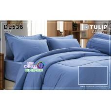 ผ้าปูที่นอนผ้านวม ทิวลิป ดีไลท์ DL538 ชุดเครื่องนอน Tulip Delight