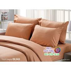 ผ้าปูที่นอนผ้านวม ทิวลิป ดีไลท์ DL542 ชุดเครื่องนอน Tulip Delight