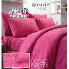 ผ้าปูที่นอนผ้านวม ทิวลิป ดีไลท์ DL546 ชุดเครื่องนอน Tulip Delight