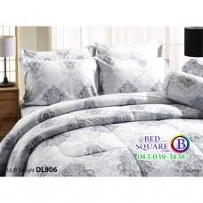 ผ้าปูที่นอนผ้านวม ทิวลิป ดีไลท์ DL806 ชุดเครื่องนอน Tulip Delight