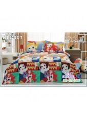 ผ้าปูที่นอนทิวลิป ผ้านวม ลายเจ้าหญิง Disney Princess DLC001 ชุดเครื่องนอน Tulip