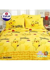 ผ้าปูที่นอนทิวลิป ผ้านวม ลายโปเกม่อน Pokemon DLC005 ชุดเครื่องนอน Tulip
