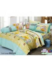 ผ้าปูที่นอนทิวลิป ผ้านวม ลายเป็ด คาโมะ DLC030 ชุดเครื่องนอน Tulip