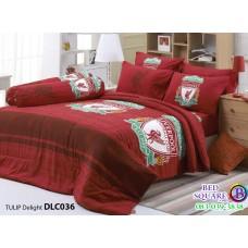 ผ้าปูที่นอนทิวลิป ผ้านวม ลายลิเวอร์พูล Liverpool DLC036 ชุดเครื่องนอน Tulip