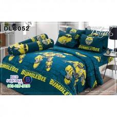 ผ้าปูที่นอนทิวลิป ผ้านวม ลายทรานส์ฟอเมอร์ Transformer DLC052 ชุดเครื่องนอน Tulip