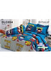 ผ้าปูที่นอนทิวลิป ผ้านวม ลายจัสติสลีก Justice League DLC054 ชุดเครื่องนอน Tulip