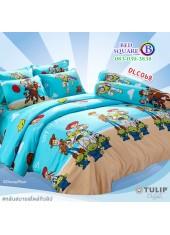 ผ้าปูที่นอนทิวลิป ผ้านวม ลายทอยสตอรี่ Toy Story DLC068 ชุดเครื่องนอน Tulip