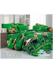 ผ้าปูที่นอนทิวลิป ผ้านวม ลายเบ็นเท็น BEN10 DLC069 ชุดเครื่องนอน Tulip