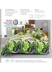 ผ้าปูที่นอนทิวลิป ผ้านวม ลายเบ็นเท็น BEN10 DLC071 ชุดเครื่องนอน Tulip