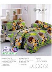 ผ้าปูที่นอนทิวลิป ผ้านวม ลายเบ็นเท็น BEN10 DLC072 ชุดเครื่องนอน Tulip