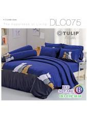 ผ้าปูที่นอนทิวลิป ผ้านวม ลายหมาจ๋า DLC075 ชุดเครื่องนอน Tulip