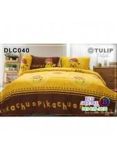 ผ้าปูที่นอนทิวลิป ผ้านวม ลายโปเกม่อน Pokemon DLC040 ชุดเครื่องนอน Tulip