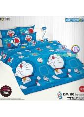 ผ้าปูที่นอนโตโต้ ผ้านวม ลายโดราเอมอน Doraemon DM110 ชุดเครื่องนอน TOTO