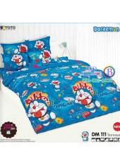 ผ้าปูที่นอนโตโต้ ผ้านวม ลายโดราเอมอน Doraemon DM111 ชุดเครื่องนอน TOTO