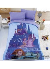 ผ้าปูที่นอนผ้านวม ทิวลิป ดีไลท์ Digital Print Disney Princess MD002 ชุดเครื่องนอน Tulip Delight