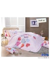 ผ้าปูที่นอน ผ้านวม พรีเมียร์ซาติน PREMIER SATIN P175
