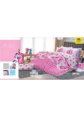 ชุดเครื่องนอนลายมายลิตเติ้ลโพนี่ My Little Pony PL005 Satin Plus ผ้าปูที่นอน ผ้านวมซาตินพลัส