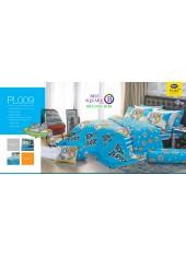 ชุดเครื่องนอนลายทอมกับเจอร์รี่ Tom and Jerry PL009 Satin Plus ผ้าปูที่นอน ผ้านวมซาตินพลัส