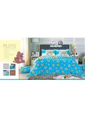 ชุดเครื่องนอนลายทอมกับเจอร์รี่ Tom and Jerry PL010 Satin Plus ผ้าปูที่นอน ผ้านวมซาตินพลัส