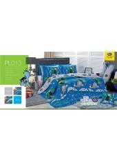 ชุดเครื่องนอนลายเบ็นเท็น Ben10 PL013 Satin Plus ผ้าปูที่นอน ผ้านวมซาตินพลัส