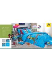 ชุดเครื่องนอนลายเบ็นเท็น Ben10 PL021 Satin Plus ผ้าปูที่นอน ผ้านวมซาตินพลัส