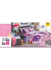 ชุดเครื่องนอนลายมายลิตเติ้ลโพนี่ My Little Pony PL023 Satin Plus ผ้าปูที่นอน ผ้านวมซาตินพลัส