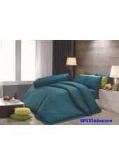 ผ้าปูที่นอน ผ้านวม พรีเมียร์ซาติน PREMIER SATIN SP15 สีไดอ๊อบเทส