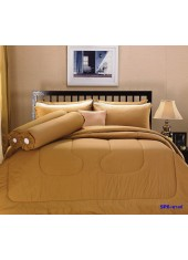 ผ้าปูที่นอน ผ้านวม พรีเมียร์ซาติน PREMIER SATIN SP6 สีลาเต้