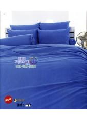 ผ้าปูที่นอนผ้านวมโตโต้ สีพื้น สีฟ้า TT-BLUE ชุดเครื่องนอน TOTO