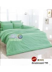 ผ้าปูที่นอนผ้านวมโตโต้ สีพื้น สีเขียวเทอร์ควอยซ์ TT-TURQUOISE ชุดเครื่องนอน TOTO
