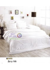 ผ้าปูที่นอนผ้านวมโตโต้ สีพื้น สีขาว TT-WHITE ชุดเครื่องนอน TOTO