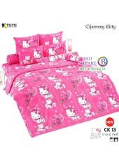 ชุดเครื่องนอนชาร์มมี่ คิตตี้ สีชมพู Charmmy Kitty TOTO ผ้าปูที่นอน ผ้านวม ลิขสิทธิ์แท้โตโต้ CK13