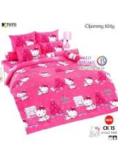 ชุดเครื่องนอนชาร์มมี่ คิตตี้ สีชมพู Charmmy Kitty TOTO ผ้าปูที่นอน ผ้านวม ลิขสิทธิ์แท้โตโต้ CK15