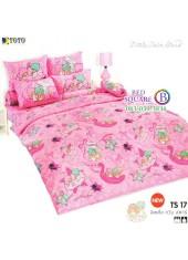 ผ้าปูที่นอนผ้านวมลายลิตเติ้ลทวินสตาร์ Little Twin Stars TS17 - TOTO