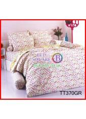 ผ้าปูที่นอนผ้านวมลายจุด โพลก้าดอท คละสี โทนสีเขียว Polka Dot