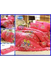 ผ้าปูที่นอนทิวลิป ผ้านวม ลายกล้วยหอมจอมซน Bananas in Pyjamas BN002 ชุดเครื่องนอน Tulip