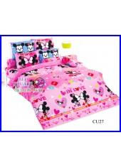 ผ้าปูที่นอนโตโต้ผ้านวมลายคิวตี้มิกกี้เมาส์ Disney Cuties Mickey CU27